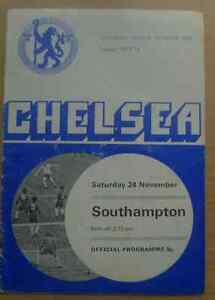 1973-74-League-Programme-CHELSEA-v-SOUTHAMPTON-24-November-1973