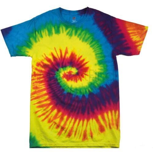 Colortone Enfants tie /& dye T-Shirt