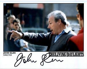 John-Glen-034-James-Bond-034-Regisseur-signed-20x25-Octopussy-original-sign-791-UH