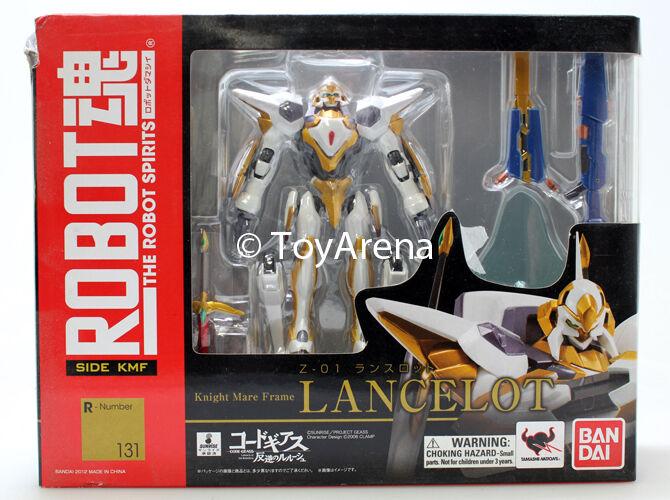 Robot Spirits Damashii 131 Lancelot Code Geass Knight Mare Frame Z-01 SHELF WEAR