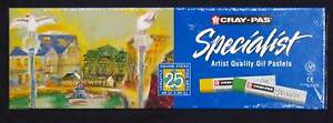 Artists-Oil-Pastels-25-Cray-Pas-Sakura-drawing-painting-Premium-Art-Materials