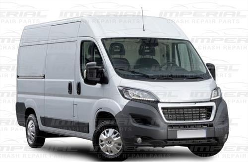 2014 to 2017 Models Front Bumper Center Section Grey Peugeot Boxer