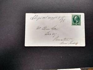 Maryland-Sligo-1878-3c-Banknote-Cover-Ms-DPO-Montgomery-Co