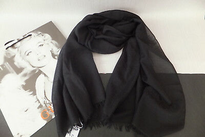 Guess Ladies Elegant Logo Nissana Scarf Hijab New With Gift
