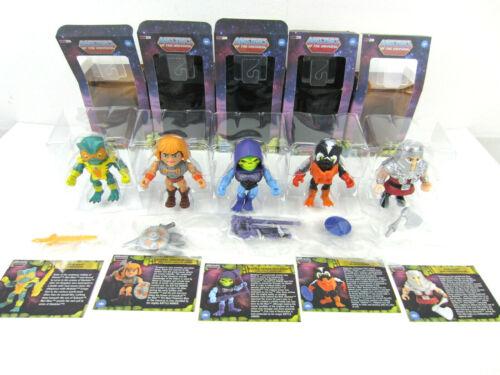 Mer-Man Ram-Man Squelette 5 maîtres de la Universe Loyal sujets Lot He-man