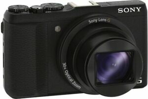"Cámara Digital Sony DSC-HX60 20.4MP zoom óptico de 30x Full H Compacta 3/"" LCD"