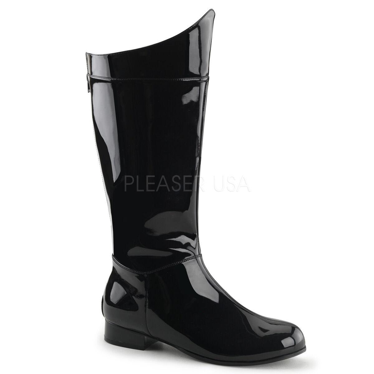 Negro Súper Héroe Darth Vader Star Wars Disfraz De Batman botas para hombre