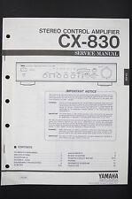 YAMAHA CX-830 Stereo Amplifier Original Service-Manual/Schaltplan/Diagram o89