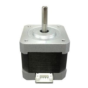 Nema-17-Stepper-Motor-Dual-Shaft-For-5mm-CNC-Prusa-Rostock-Reprap-3D-Printer