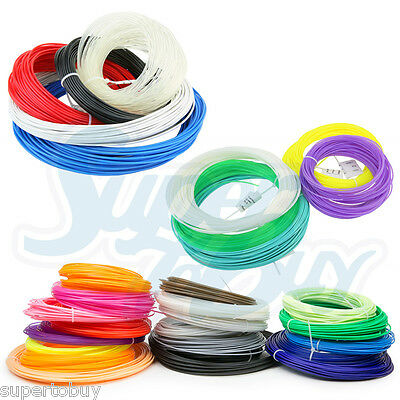 1x Mini 3d Printer Filament 1.75mm 3mm Abs Pla 50g/12m Reprap Markerbot Doodle 3d Printers & Supplies