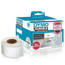 Dymo 1933085 Lw Durable 3 4in X 2 1 2in White Poly 900 Labels