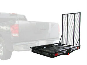 500lb heavy duty carrier loading ramp mobility scooter electric