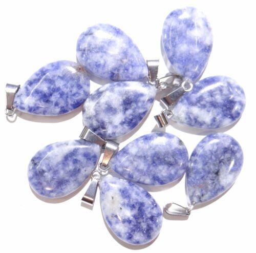 Wholesale MIX AGATE gouttes d/'eau Pendentifs Perles Charms Fit Collier Bijoux Making