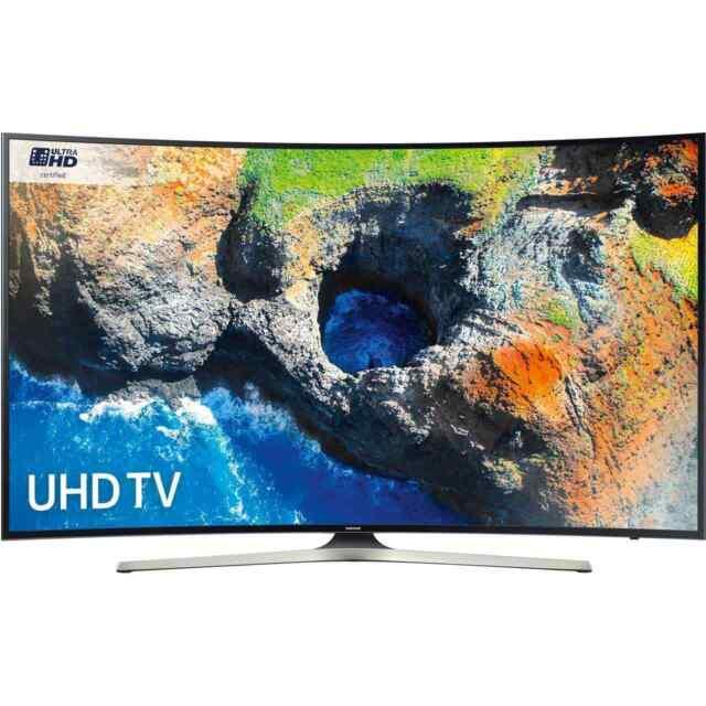 Samsung UE55MU6220 MU6000 55 Inch Curved Smart LED TV 4K Ultra HD Certified TV