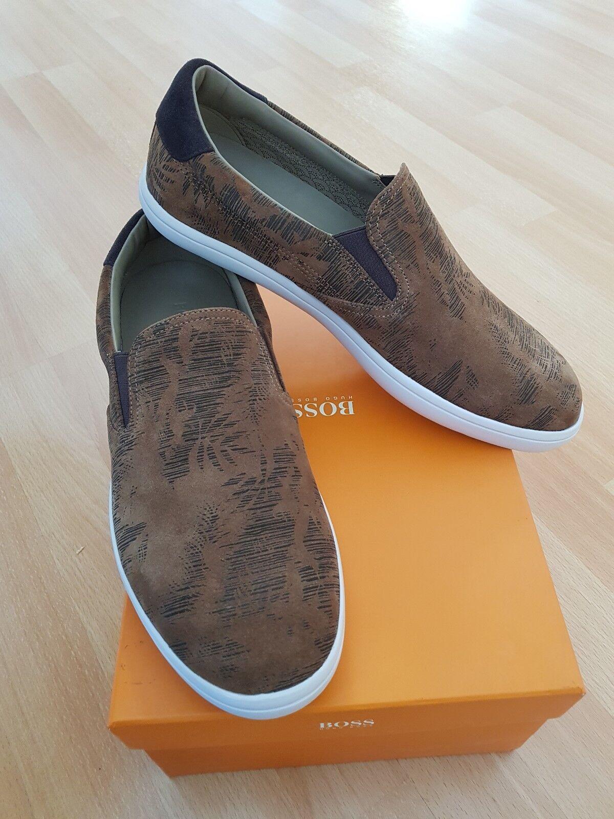 *NEU*  Hugo Boss Schuhe braun Größe 42. NP 160