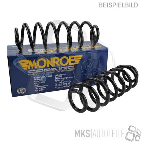 2 x MONROE FAHRWERKSFEDER SPIRALFEDER SET VORNE VW SKODA 3858078