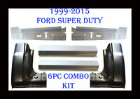 1999 2015 6pc Ford Super Duty Rocker Panel, Inner & Cab Kit, 2 Door Regular Cab