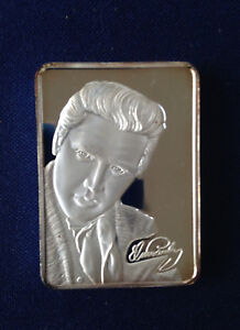 1979-Green-Country-Mint-Elvis-Signature-GCM-19-Ser-12-50-Silver-Art-Bar-P0605