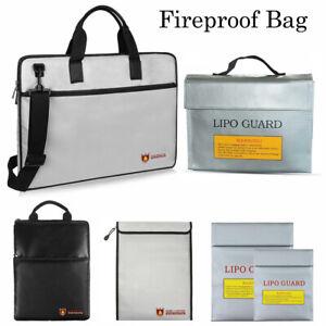 Stupendous Details About Fireproof Waterresistant Money Safe Cash Box Secret Document Bag File Pouch Case Wiring Cloud Usnesfoxcilixyz