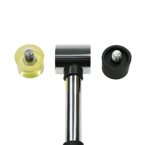25mm Amphibious Rubber Hammer Nonslip Grip Dual Mini Rubber /& Nylon Head Face