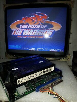 Art Of Fighting 3 The Path Of The Warrior Japan Ver Snk Neo Geo