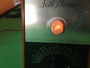 Vintage Seth Thomas Electronic Metronome USA