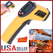 Non Contact Laser Infrared Thermometer Lcd Digital Temperature Gun Pyrometer Us