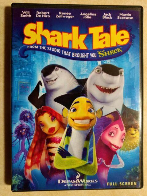 Shark Tale Tale S Oscar Will Smith Dreamworks Hasbro 2004 41821 8 Plush Stuffed For Sale Online Ebay