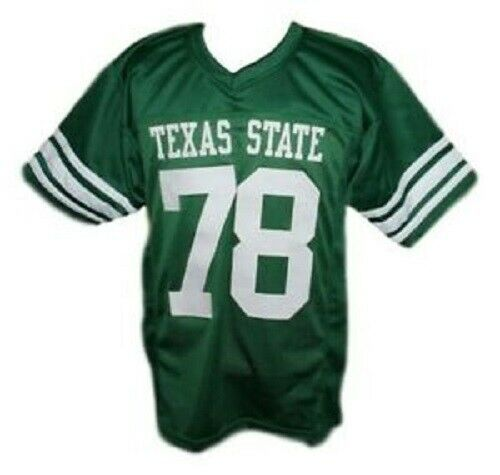 Krimm #78 Necessary Roughness Movie Texas State Football Jersey Green Any Size