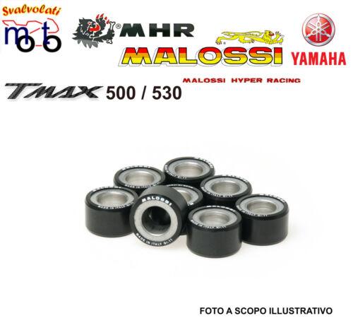 MALOSSI 8 RULLI GRAMMI 18 YAMAHA XP T-MAX TMAX 500 2001 6613561.G0