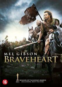 DVD  - BRAVEHEART (1995) MEL GIBSON  (NEW /NIEUW / NOUVEAU SEALED)