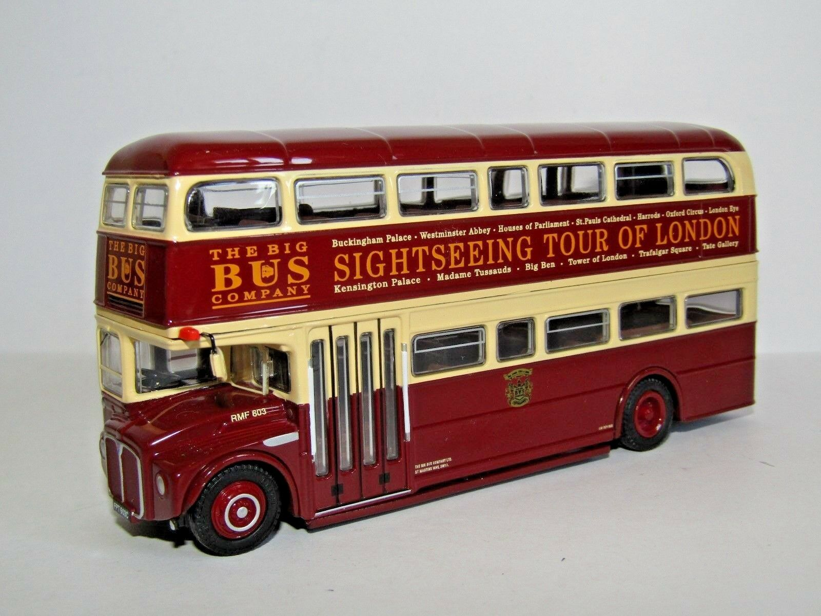 EFE RMF ROUTEMASTER BUS BIG BUS COMPANY LONDON TOUR 1 76 32104