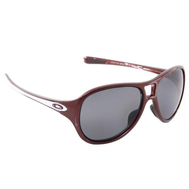 New Oakley TwentySix 2 Polarized Sunglasses Cosmo Red/Grey $220 Authentc Womens