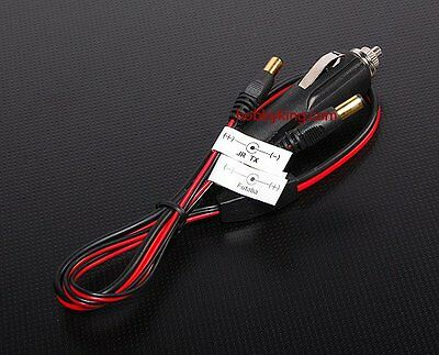 RC Car Cigarette Lighter Adapter for Lipo Battery Chargers Imax Turnigy Emax Etc