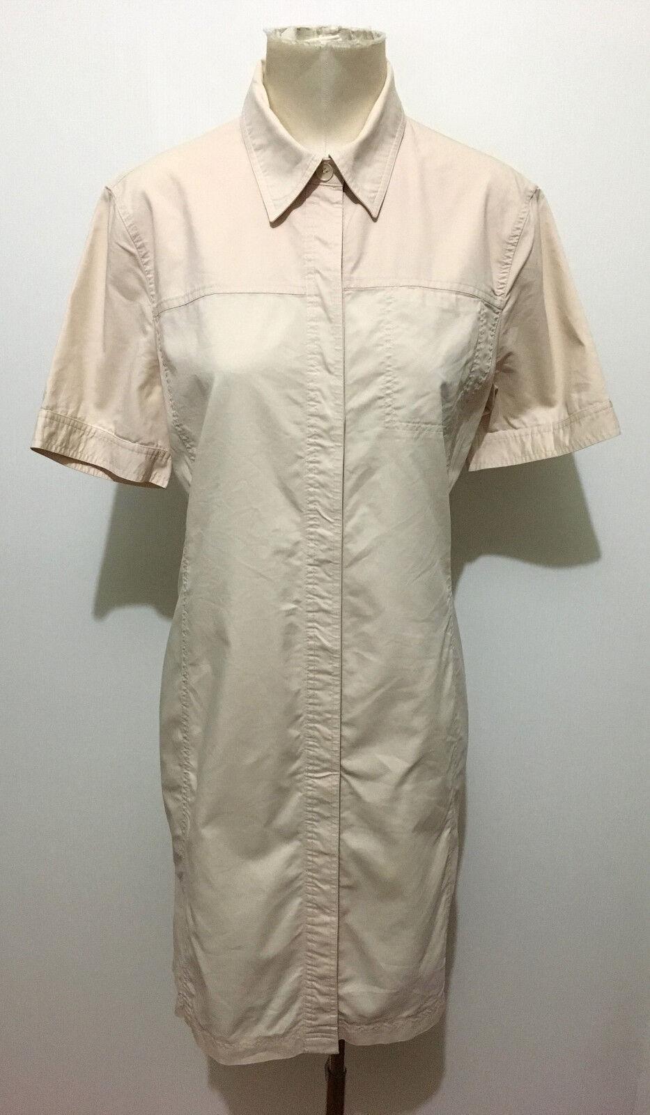HUGO BOSS Abito Vestito women Cotone Cotton Woman Dress Sz.L - 46