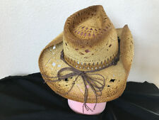 001c71422513b Bullhide Hat 2355BR Run A Muck Collection Scorched Beige Cowboy Hat Straw L  XL