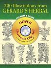 200 Illustrations from Gerard's Herbal by John Gerard (CD-ROM, 2005)