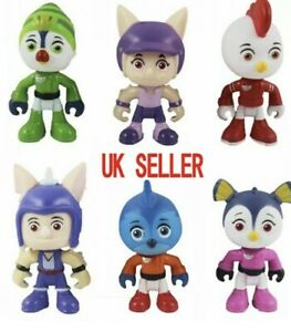 TOP WING - Kids 6PACK NEW 2020Toy Figures Gift Cake Toppers TV