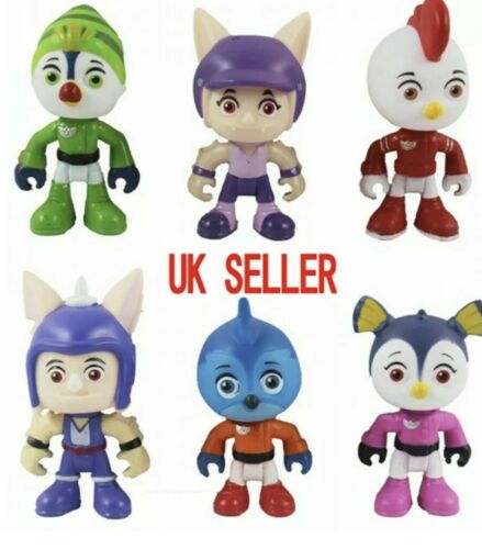 TOP WING Kids Children 6PACK NEW 2020  Toy Figures Gift Birthday TV