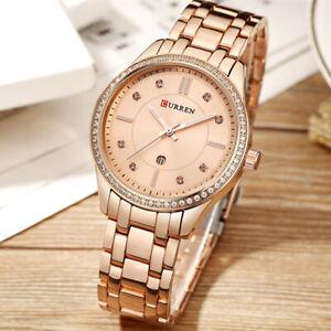 CURREN-9010-Watch-Women-Casual-Girl-Quartz-Wristwatches-Ladies-Gifts-Crystal