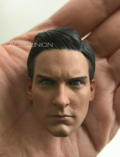 1//6 Spider-Man Tobey Maguire Head Sculpt 2.0 For Hot Toys PHICEN Male Figure USA