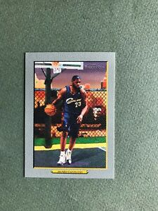 LeBron James 2006-07 Topps Turkey Red #2 Cavaliers Lakers
