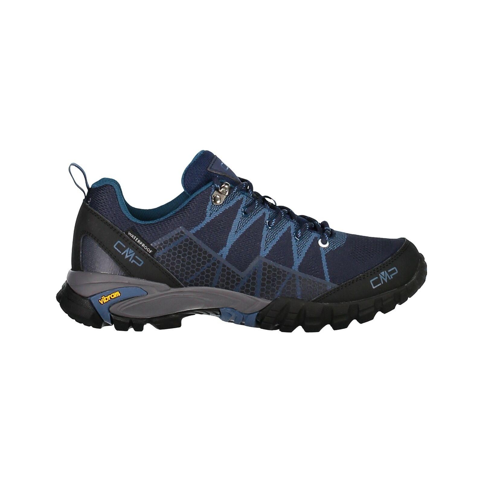 CMP trekking shoes  outdoor trekking tauri low wp shoe dark bluee windproof  simple and generous design