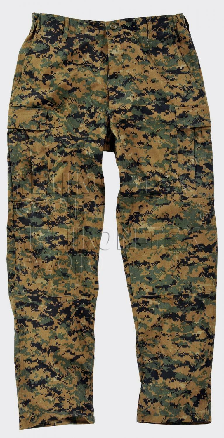 US Woodland digital marines usmc army Marpat Camo Pants Trousers Large Long