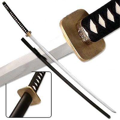"Odachi Giant Katana 78"" Steel Sword Hardwood Scabbard Faux Ray Skin Ninja Martia"
