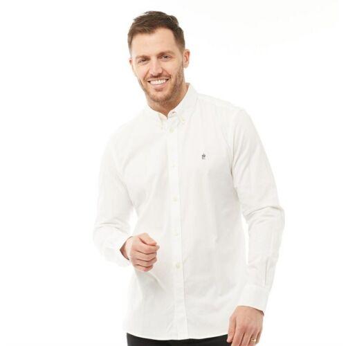 XXL French Connection FCUK Men/'s /'Oxford/' Smart Long Sleeve Shirt M S L XL