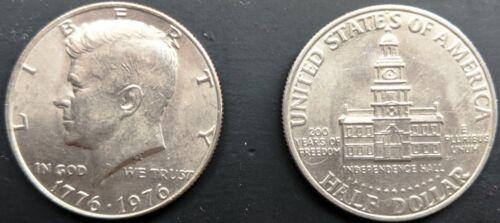 Collectible 1776-1976 Bicentennial KENNEDY HALF DOLLAR JFK 50 c **VINTAGE COIN**