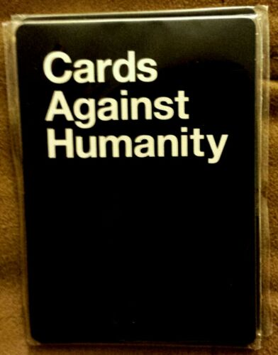 Cards Against Humanity RETAIL PACK PROMO ONLY OP 2 Black 3 White Free Shipping