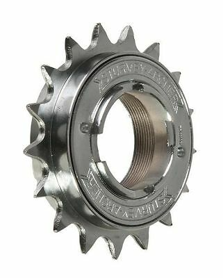 NEW Sturmey Archer Chrome Plated Single Speed Freewheel Cog 1/2 x 3/32