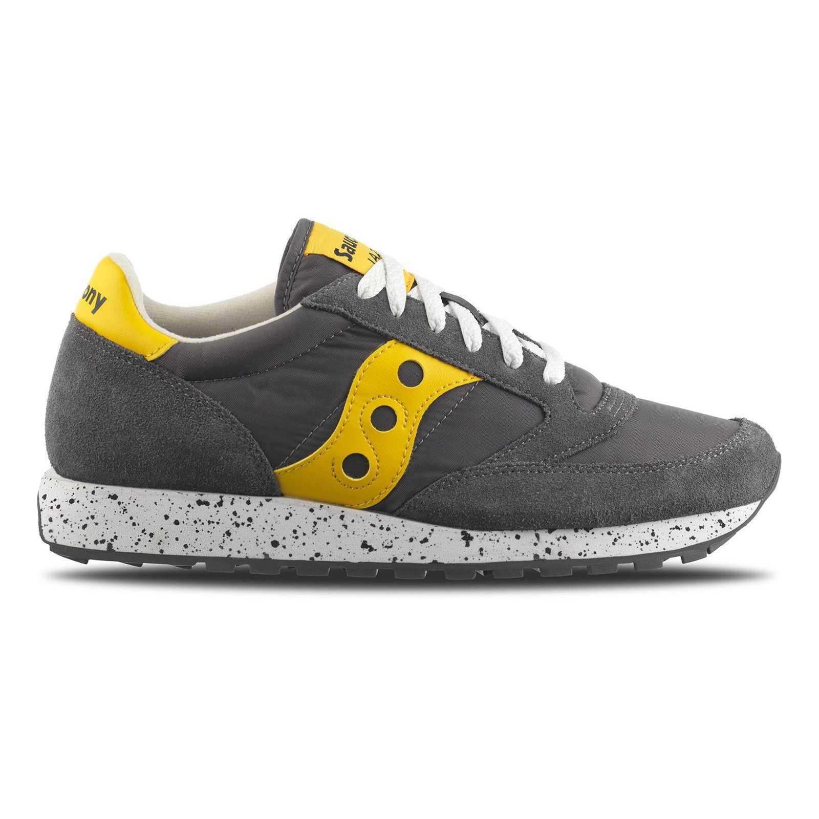 Saucony Jazz Original Man Grey 2044-417 Sneakers shoes Splashed